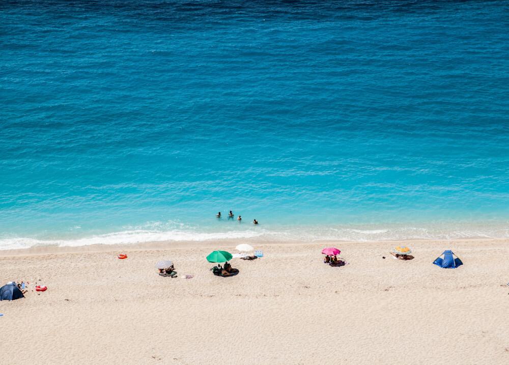 Παραλία Κάθισμα στη Λευκάδα