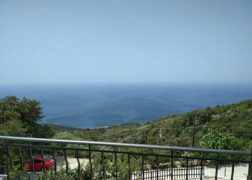 Breathtaking view of the Ionian sea at Natura Villas in Lefkada